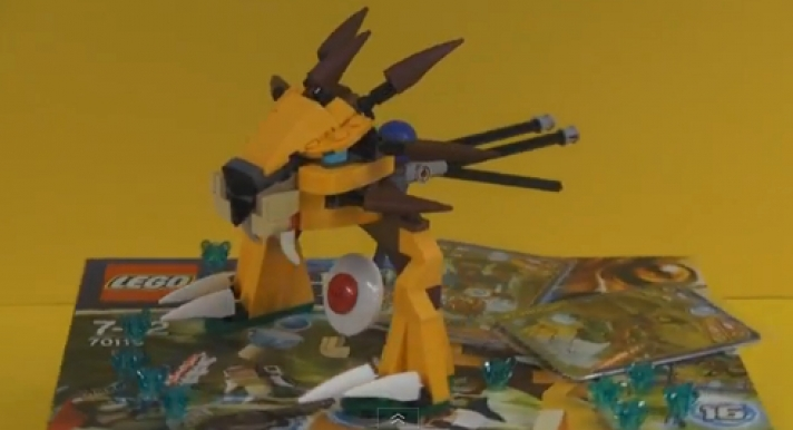 Návody na stavbu LEGO - 70005 - Laval's Royal Fighter - Lego Legends of Chima - animation